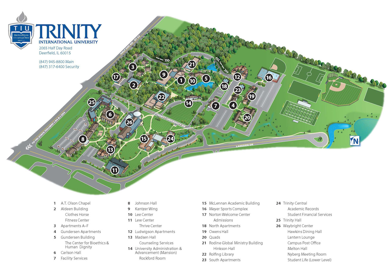 Rockford University Campus Map.Campus Maps Home